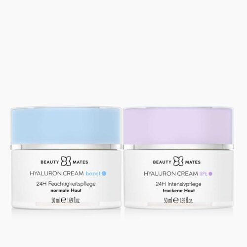Beautymates Day and Night Duo aus Hyaluron Cream Boost und Hyaluron Cream Lift