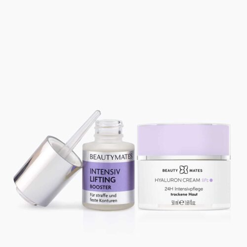 Beautymates Intensiv Lifting Set aus Intensiv Lifting Booster und Hyaluron Cream Lift
