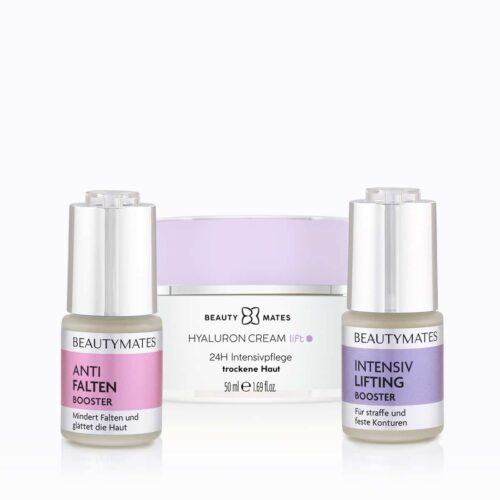 Beautymates Lift and Repair Kit aus Anti Falten Booster, Hyaluron Cream Lift und Intensiv Lifting Booster